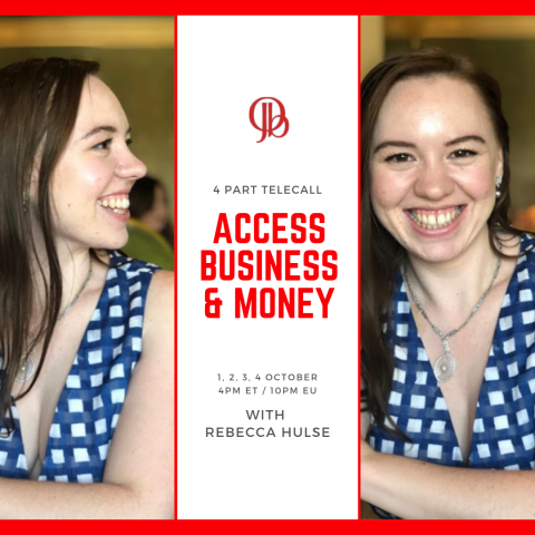 Access Business & Money with Rebecca Hulse