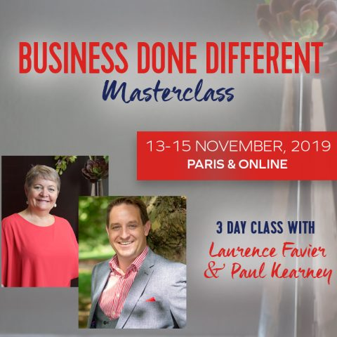 Business Done Different Master Class with Laurence Favier and Paul Kearney