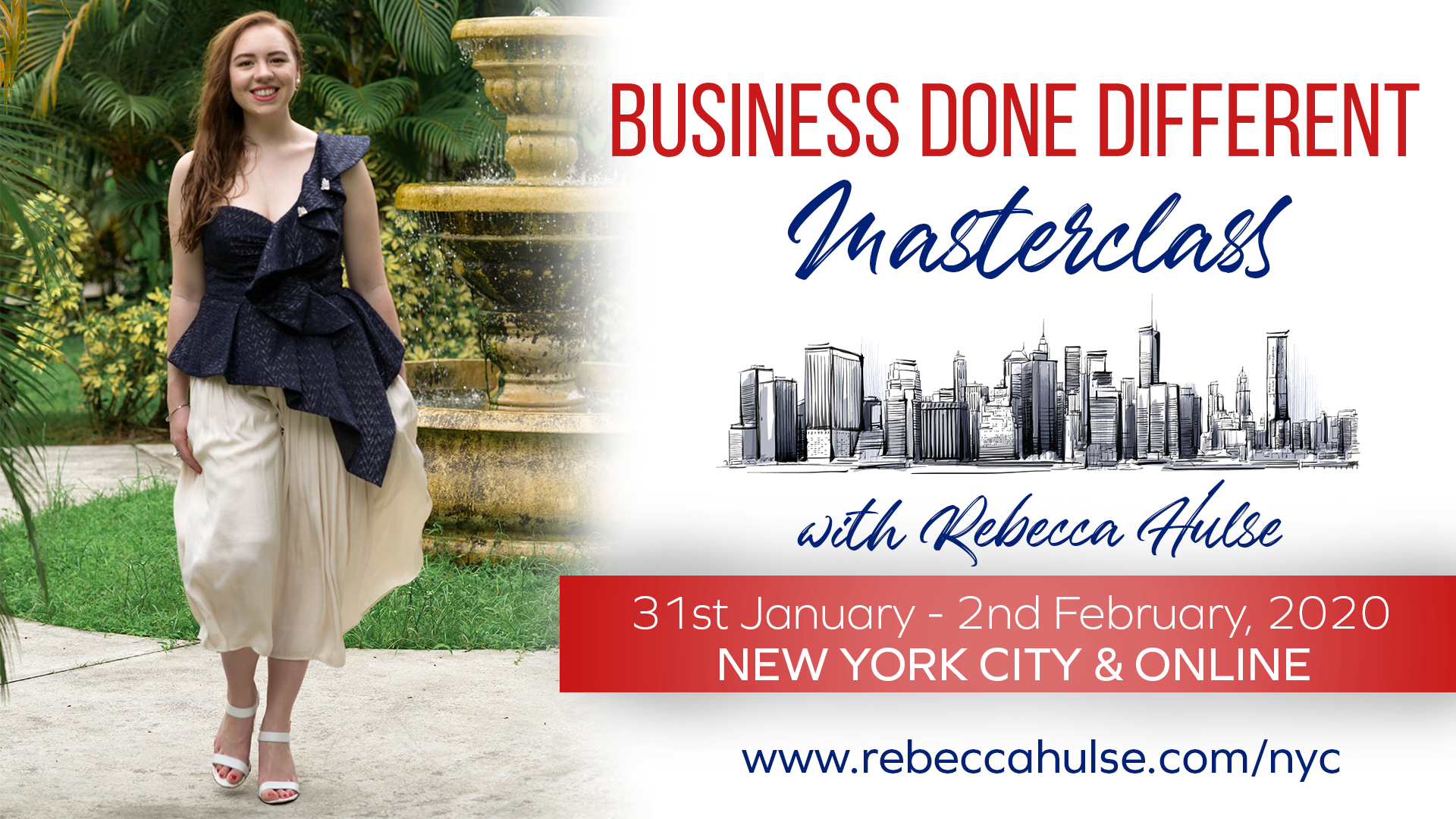 Business Done Different Master Class with Rebecca Hulse