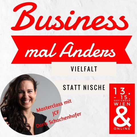 Business mal anders – Masterclass mit Doris in Wien