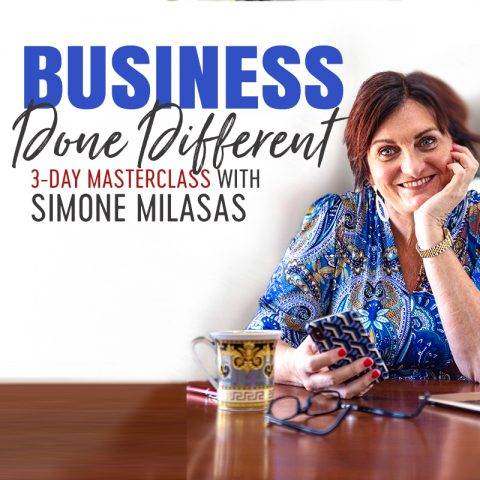 BUSINESS DONE DIFFERENT MASTERCLASS with Simone Milasas