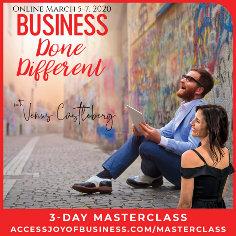 Business Done Different Master Class 1.0 with Venus Castleberg